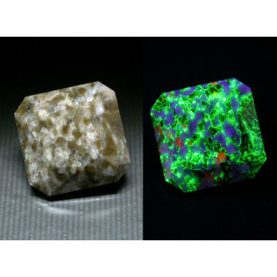 Gemstones with Fluorescents