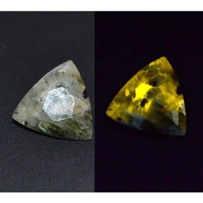 Manganoapatite - Hyalite - Feldspar